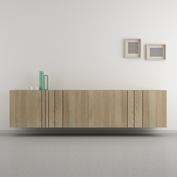 aparador salón madera original