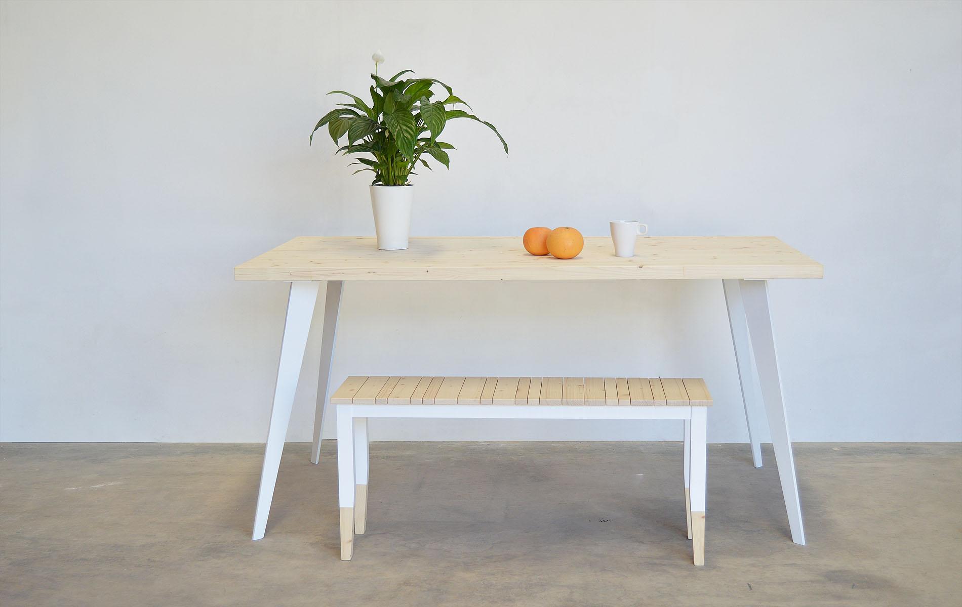 mesas de comedor hierro madera