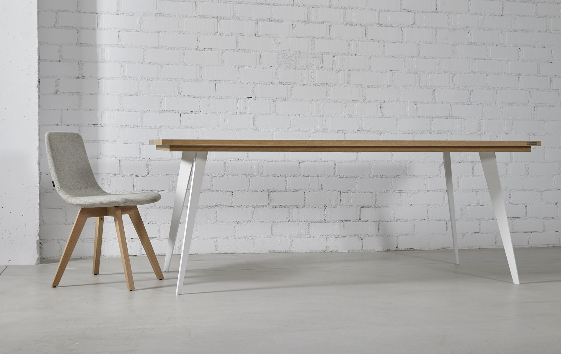 mesa comedor madera natural roble