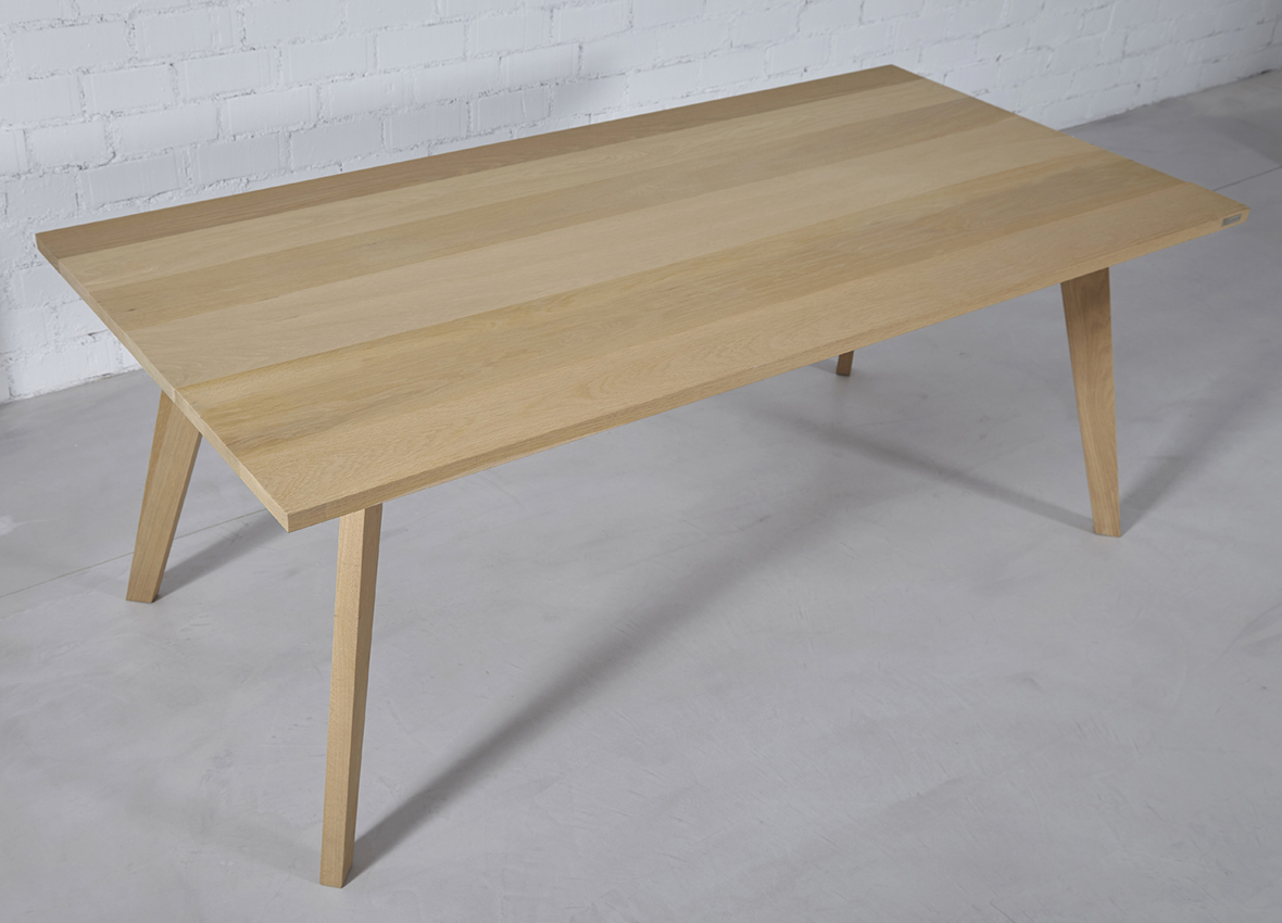 mesa comedor roble nórdica