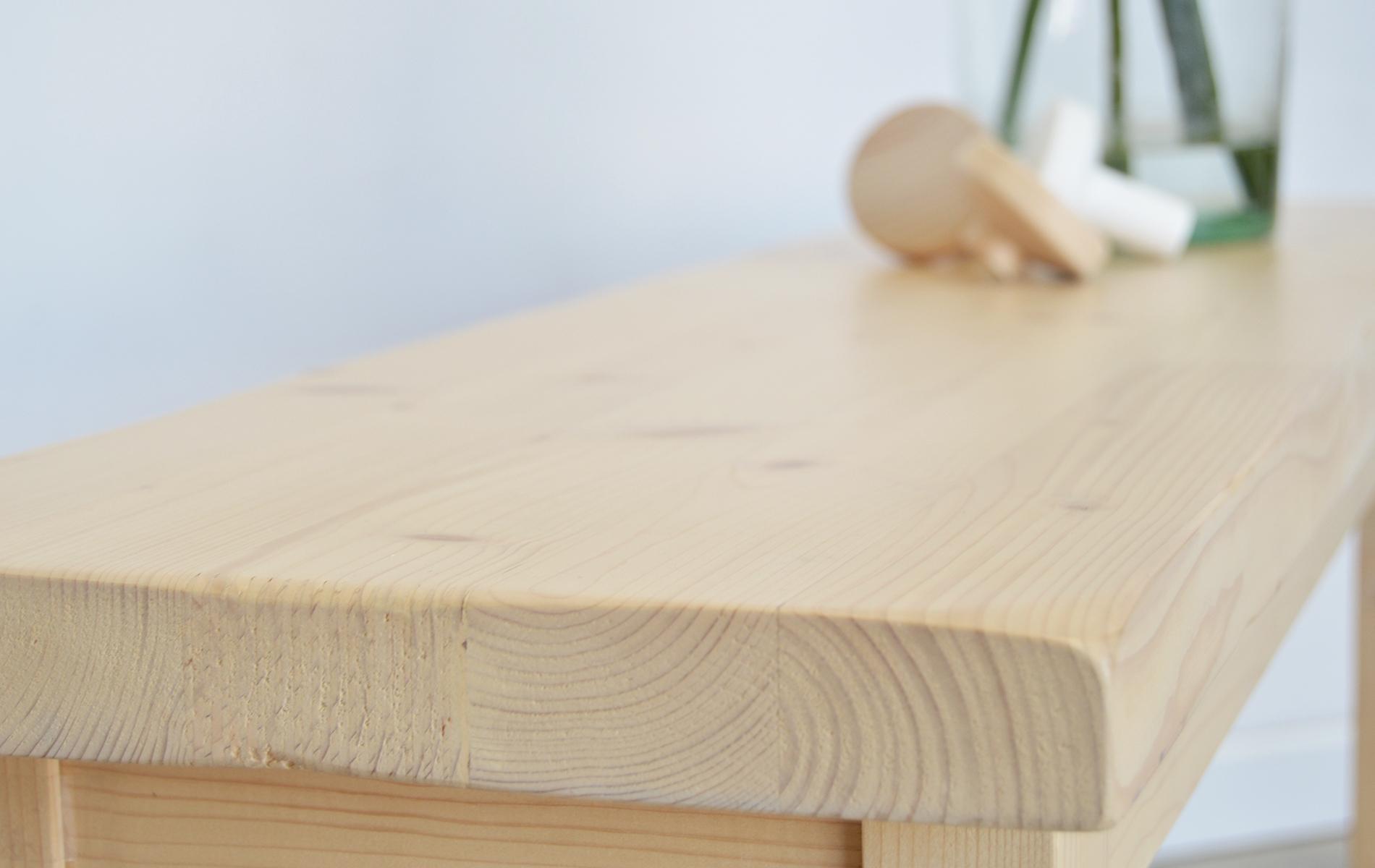 detalle tapa banco madera