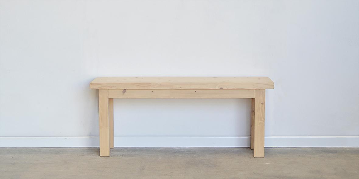 banco de madera recibidor