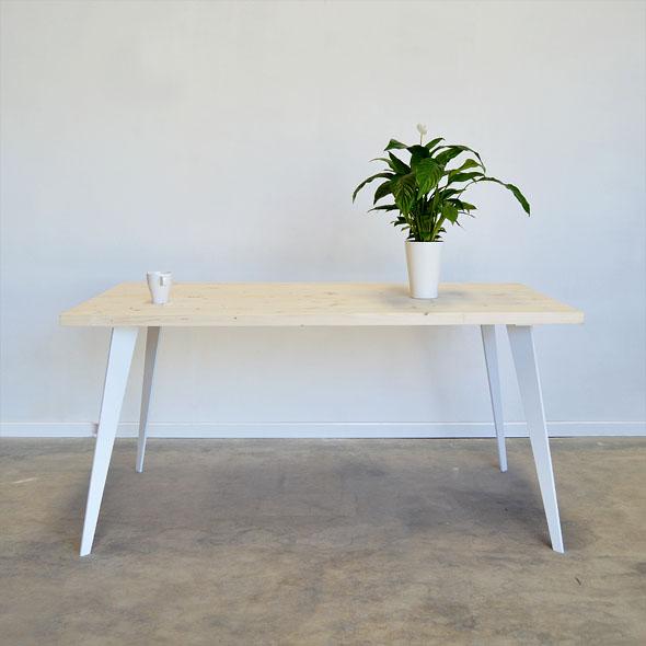 mesas de comedor patas metal
