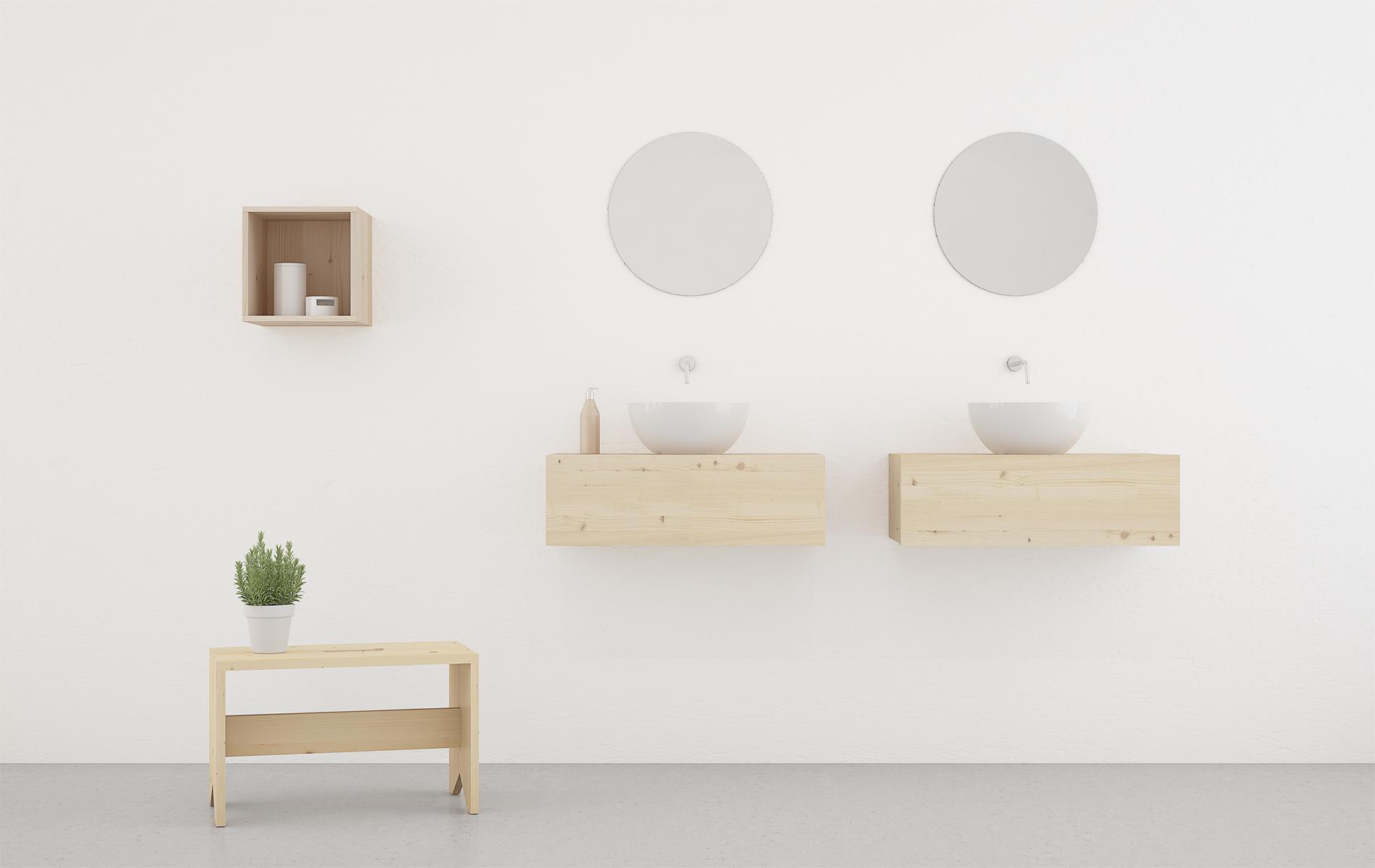mueble baño ecologico