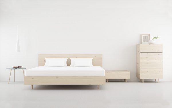 sinfonier dormitorio matrimonio madera natural estilo nordico