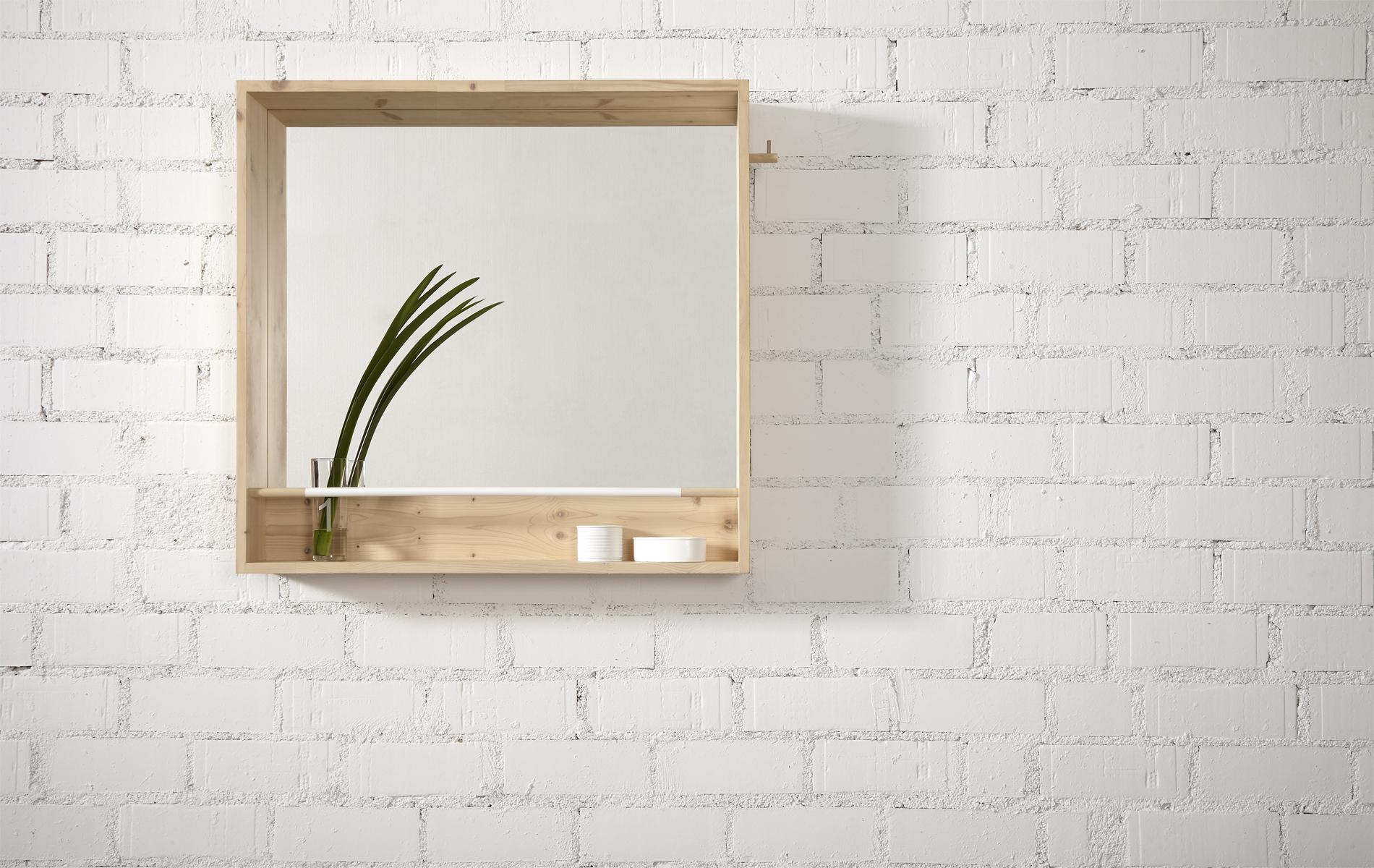 Espejo n rdico original para espacios peque os tienda on - Espejo nordico ...
