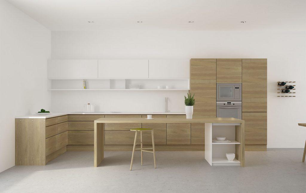Diseño en madera en la cocina - Moblebo - Muebles nórdicos ...