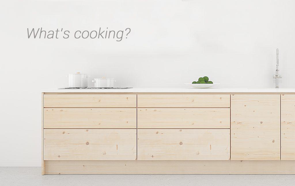 Muebles de baño y cocina de diseño en madera ecológico.