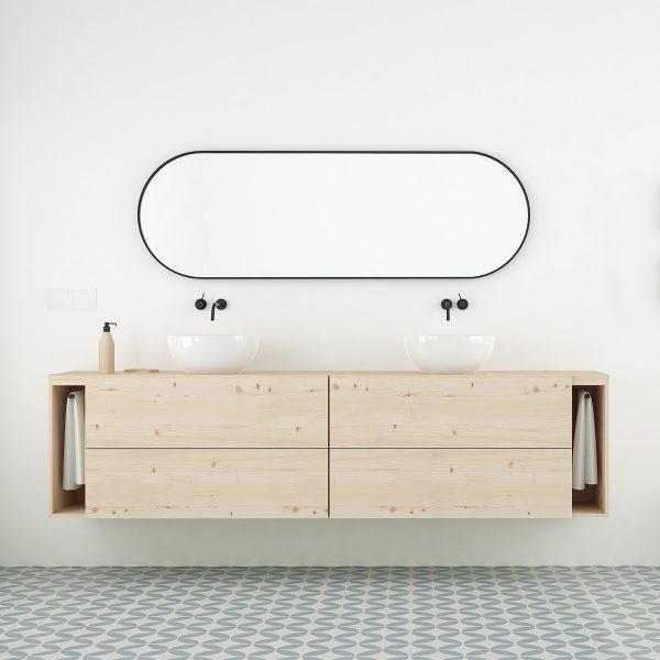 mueble de baño nordico