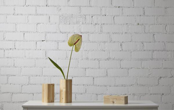 jarron madera diseño