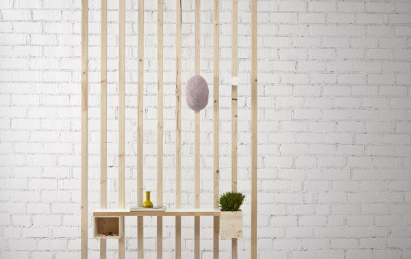 separador ambientes madera natural original
