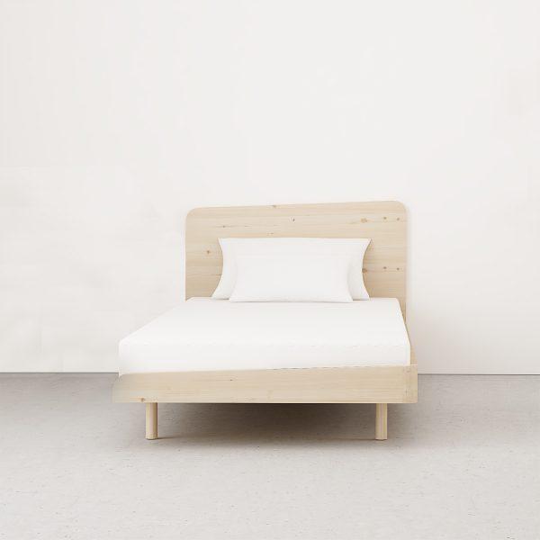 cama dormitorio juvenil estilo nórdico y ecológico
