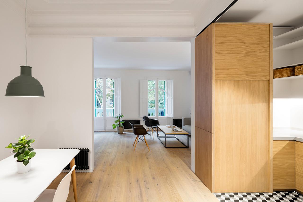 proyecto interiorismo estilo nordico madera natural