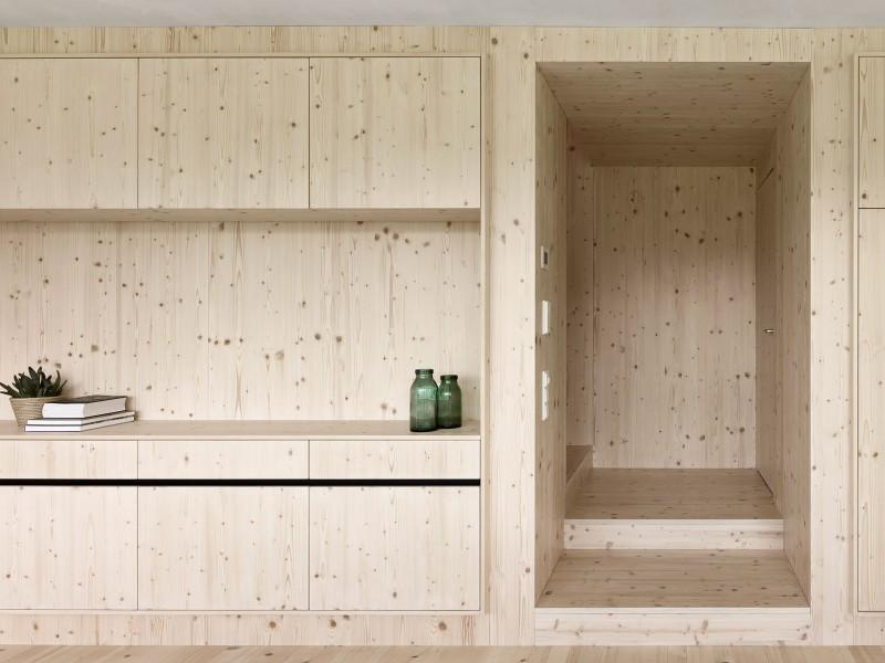 Proyecto de interiorismo muebles macizos ecologicos nordicos