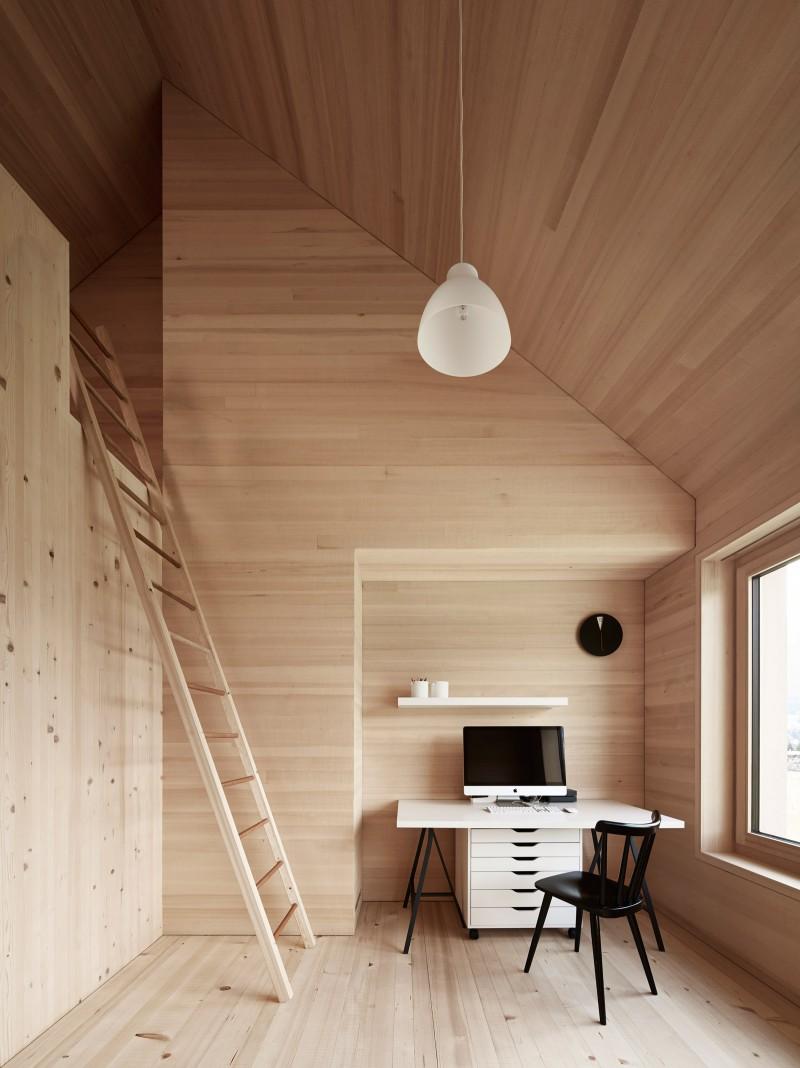 muebles de cocina de madera maciza estilo nordico