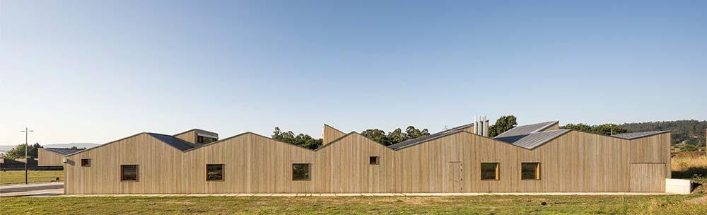 edificio público en madera